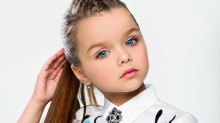 Meet the six-year-old who has been hailed the 'most beautiful girl in the world'