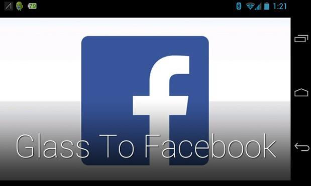 Google Glass snags unofficial Facebook photo sharing