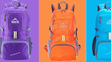 Amazon shoppers swear by this lightweight, travel-friendly backpack: 'Great little inexpensive pack!' — on sale for only few hours
