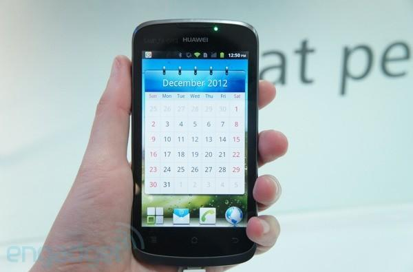 Huawei Ascend G 300 hands-on at MWC 2012 (video)