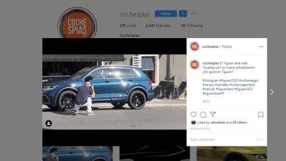 ¡Filtrado el Volkswagen Tiguan 2020! El SUV, sin ningún camuflaje