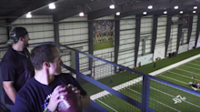 No big deal, just Drew Brees making insane trick shots with footballs