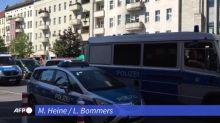 Berlin: Vier Männer greifen Bankfiliale an