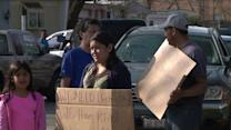 Wheeling mobile home residents protest conditions