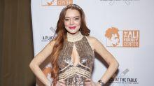 Lindsay Lohan announces 'I'm Back' in eerie video