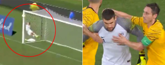 Ryan's 'Superman' save stuns Socceroos fans