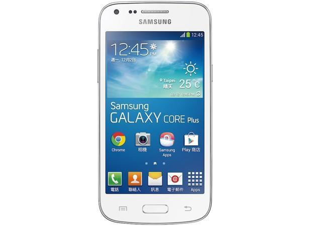 Samsung launches Galaxy Core Plus with curious step backwards in specs