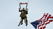 97-Year-Old D-Day Veteran Parachutes Into Normandy On 75th Anniversary