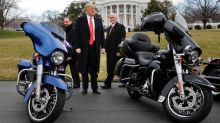 Trump supports possible Harley-Davidson boycott