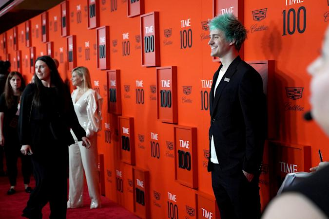 """NEW YORK, NEW YORK - APRIL 23: Tyler """"Ninja"""" Blevins attends the Time 100 Gala 2019 at Jazz at Lincoln Center on April 23, 2019 in New York City. (Photo by Sean Zanni/Patrick McMullan via Getty Images)"""
