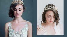 Meghan Markle 效應:2018 年最熱門婚禮頭飾竟是皇冠,而且還更適合簡約系新娘呢!