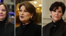 Muchas menos mujeres directoras generales que hombres