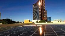 Wynn Las Vegas Marks The Opening Of The Wynn Solar Facility