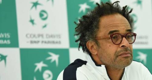 Tennis - Coupe Davis - Yannick Noah : «Du jour au lendemain, on ne va pas les forcer à venir»