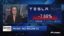 Pressure is starting to break Tesla's Elon Musk, says NYT...