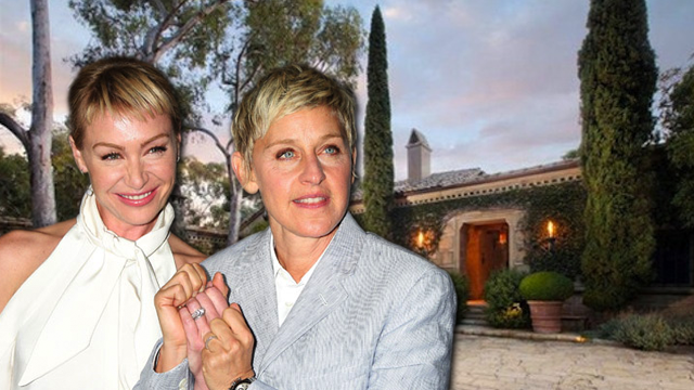 Ellen Degeneres and Portia de Rossi Buy New Mansion