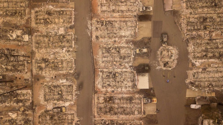 Relentless California wildfires leave 79 dead