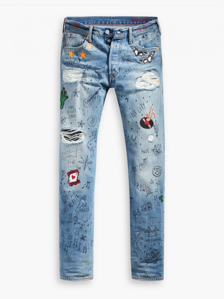 Exclusive Denim Adidas Top Ten 2000 Swaggy P Pes For: Levi's Celebrates 501 Day With Exclusive Capsule Collection