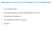 Dentsply Sirona's Top 5 Priorities for Executing a Strategic Business Turnaround