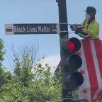D.C. renames street where Trump held bible 'Black Lives Matter Plaza'