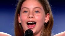 10-Year-Old Opera Singer Hits Golden Buzzer High Note On 'America's Got Talent'