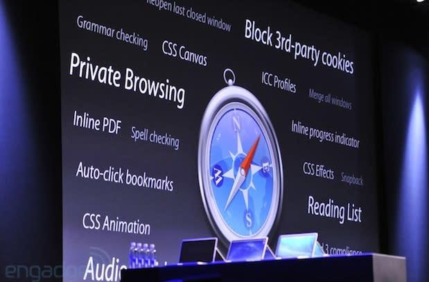 Apple introduces new Safari for OS X Mavericks: shared links and iCloud keychain passwords