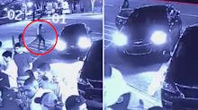 The eerie moment student gets into random car instead of Uber hours before death