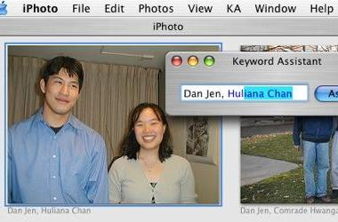 Keyword Assistant for iPhoto goes Universal