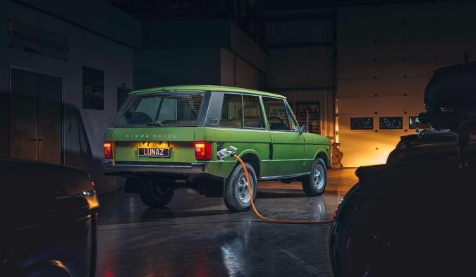Lunaz turns classic Range Rovers into EVs.