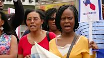 """Haitian-Americans say """"no"""" to new DR immigration law"""