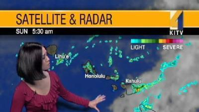 Threat For Heavy Showers For Big Island