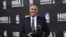 Mike D'Antoni wins Coach of the Year at 2017 NBA Awards Show