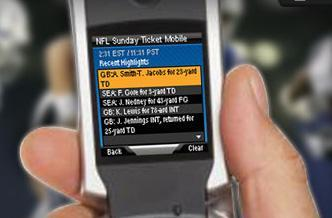 DirecTV NFL Sunday Ticket SuperFan subscribers to get mobile games