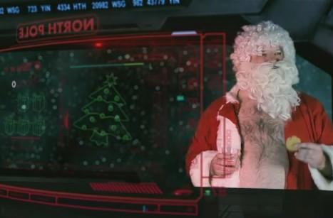 EVE Online's holiday celebration trailer is all over the naughty list