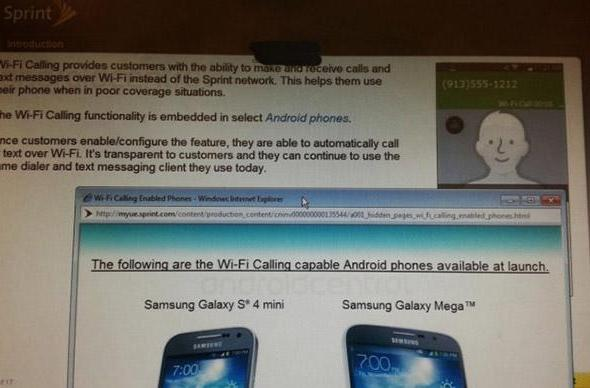 Sprint might launch free WiFi calling for select Android devices