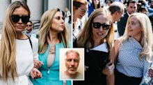 'I will not let him win in death': Angry Epstein victims have their day in court