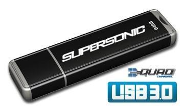 Patriot intros Supersonic USB 3.0 flash drive, milks 100MB / sec from a single chip
