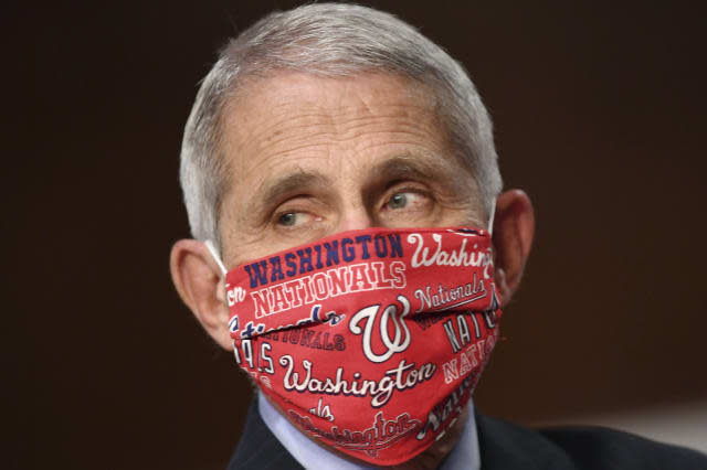US could reach 100,000 new virus cases a day, Fauci says