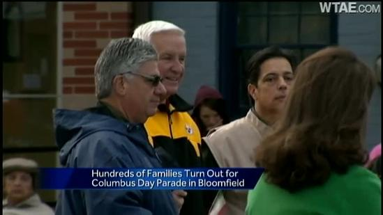 Bloomfield celebrates with Columbus Day parade
