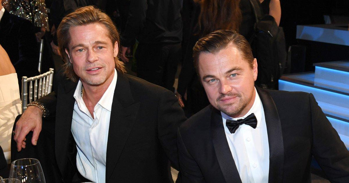 Costars Leonardo DiCaprio and Brad Pitt Dance the Night Away After ...