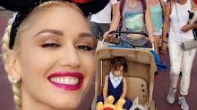 Gwen Stefani Takes A Mini Tour Break And Enjoys Family Trip To Walt Disney World In Orlando