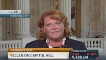 Sen. Heitkamp: Yellen needs to stay the course