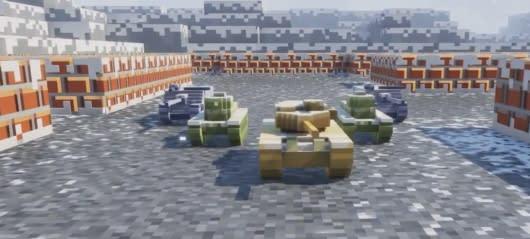 World of Tanks introduce pixel-tastic Winter Showdown