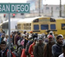 Migrants in Caravans Are Arriving in Their Hundreds at the Mexico-U.S. Border