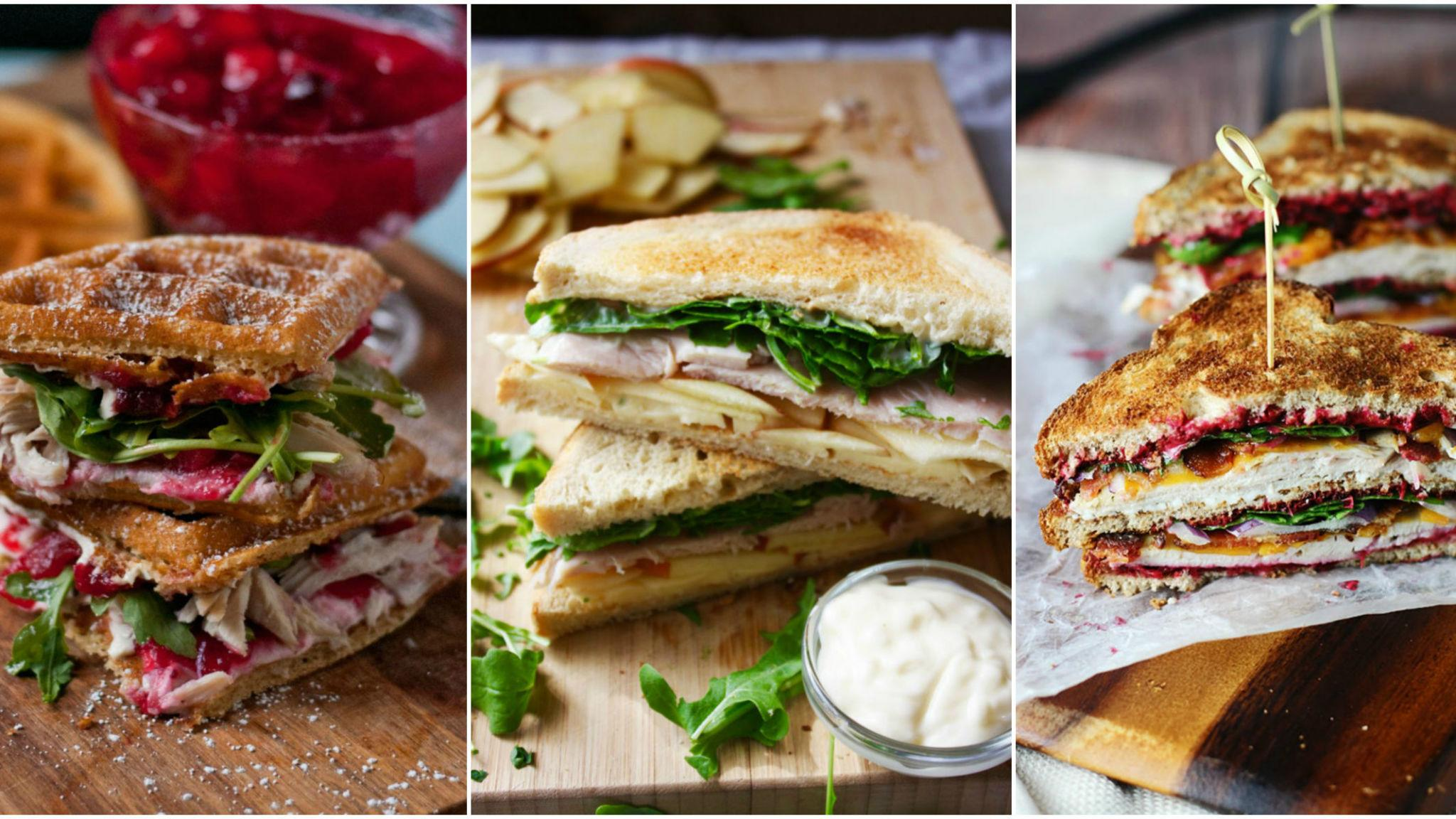 10 turkey sandwiches you can make with thanksgiving leftovers for How to make leftover turkey sandwich