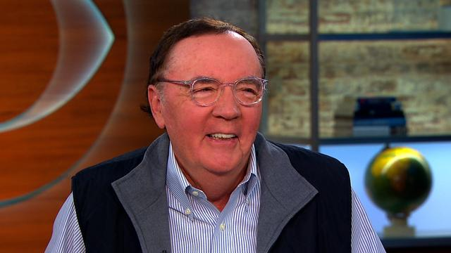 James Patterson: Best-selling author campaigns for literacy