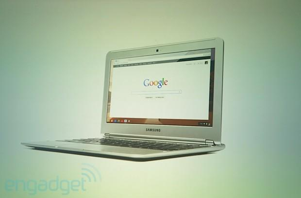 Google launches 11.6-inch ARM-based Samsung Chromebook: $249, 6.5-hour battery, 1080p video