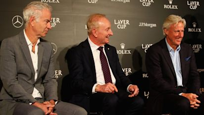 Europe team ready to take on world side in Laver Cup as tennis prepares for its Ryder Cup
