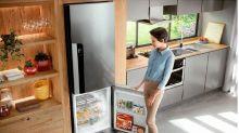 Geladeira Consul com freezer embaixo está em promoção