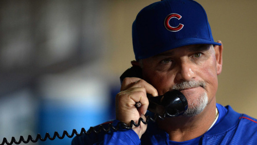 Cubs pitching coach Chris Bosio has reportedly been fired. (AP)